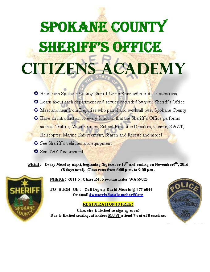 CitizensAcademy Fall 2016 flyer