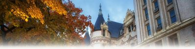 Spokane County Courthouse in Autumn by James Richman (thumbnail)