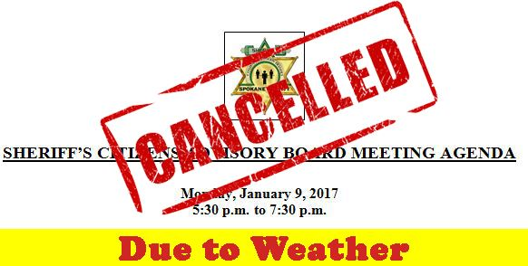 CAB January 2017 Meeting-Cancelled-WeatherJPG