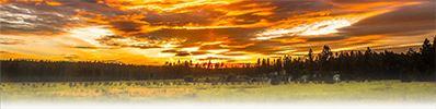 Fire Sky in North Spokane by Rick Lindberg (Thumb)