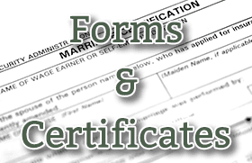 Forms & Certificates