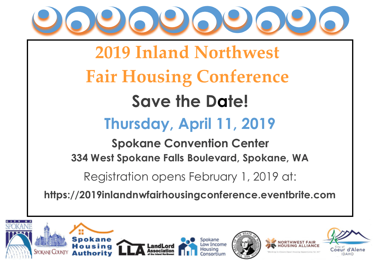 FAir Housing Save the Date
