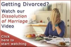Dissolution of Marriage Video