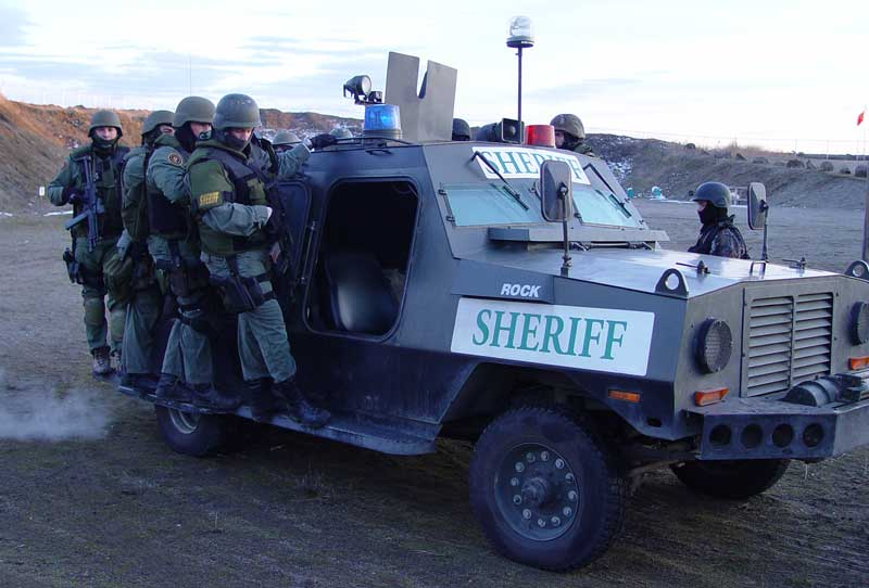 Loaded Armored Vehicle