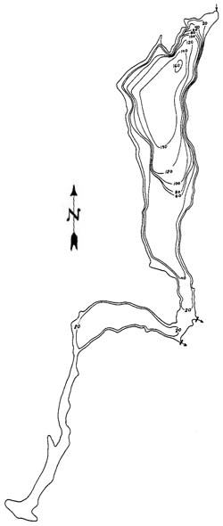 Chapman Lake Map
