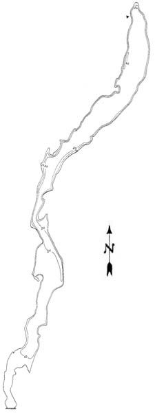 Fishtrap Lake Map
