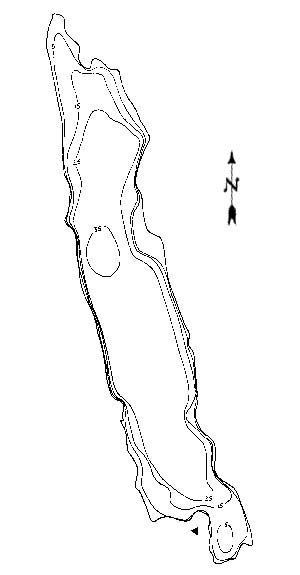 West Medical Lake Map