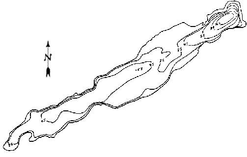 Williams Lake Map