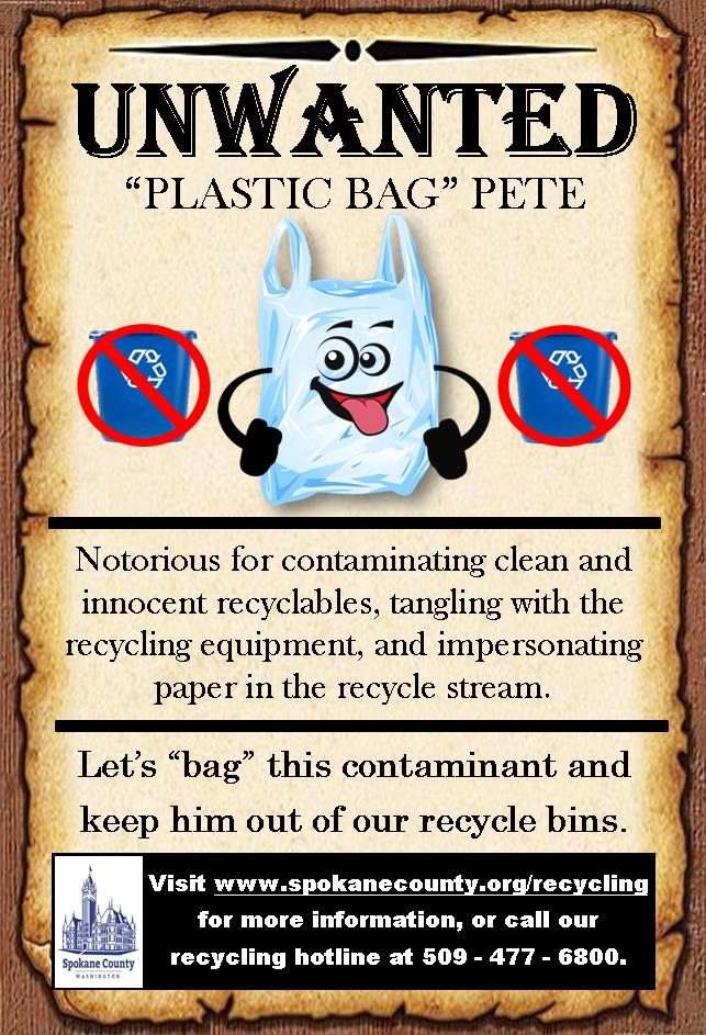 Unwanted Poster_Plastic Bags