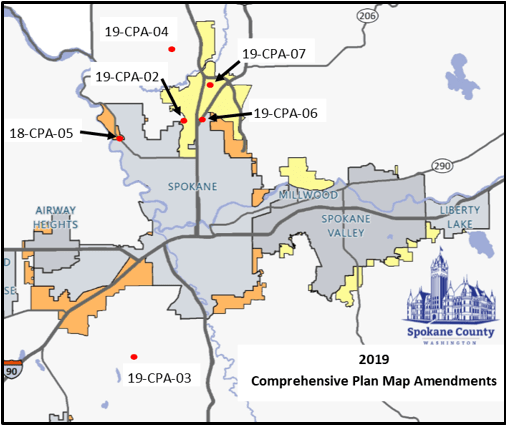 2019 Comp Plan Map Amendments