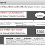 Ticket case number locations